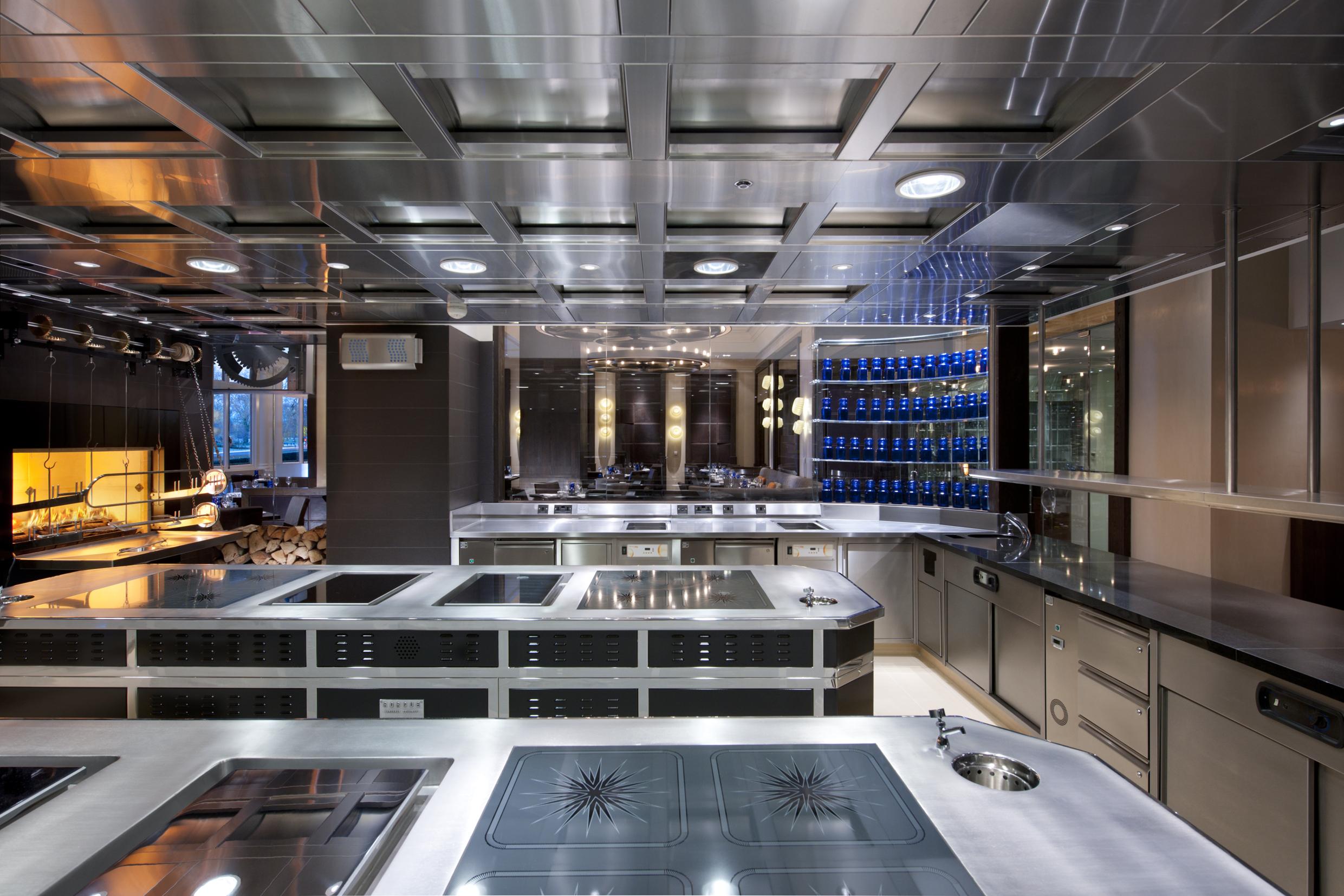 Inside Dinner By Heston Blumenthal An Adam Tihany Design