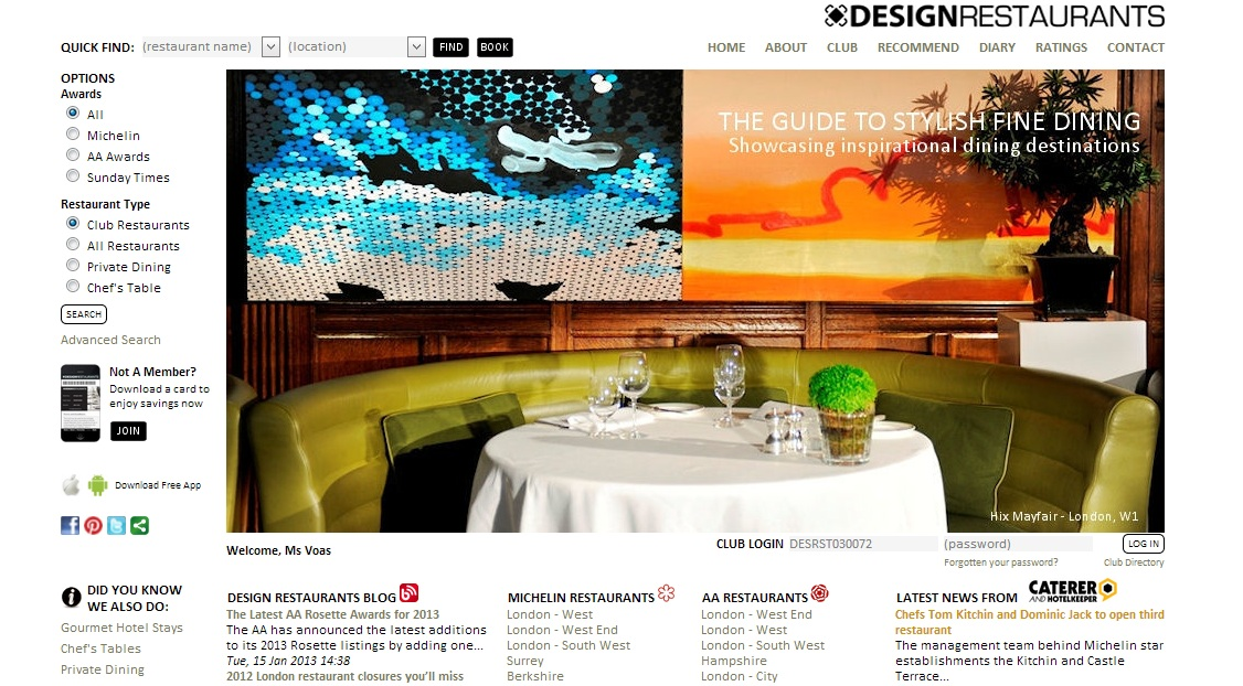 www.designrestaurants.com