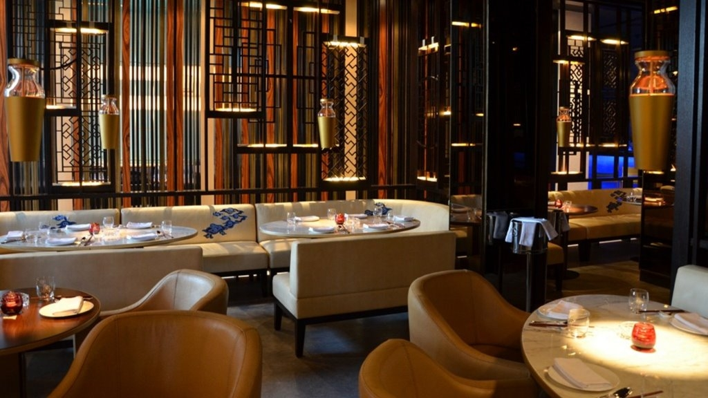 alain ducasse exotic with beautiful french cuisine with an arabic