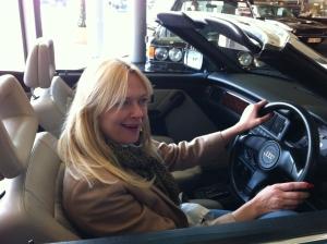 Princess Diana's Audi Convertible