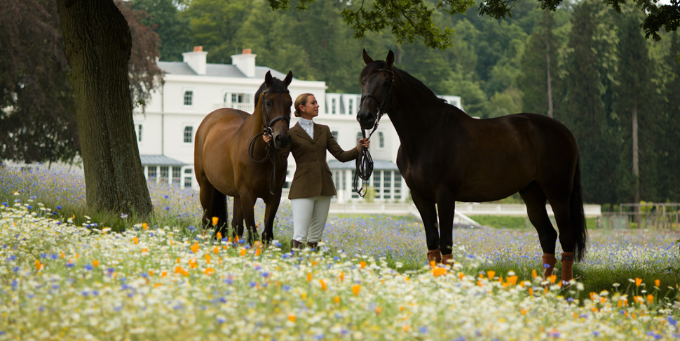 Equestrian at Coworth Park, Ascot