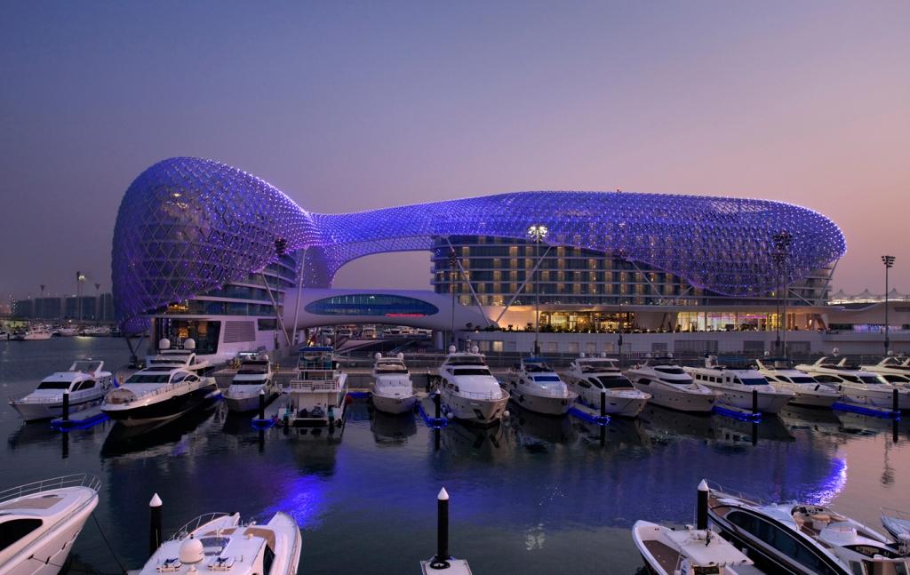 Yas Marine Island Abu Dhabi