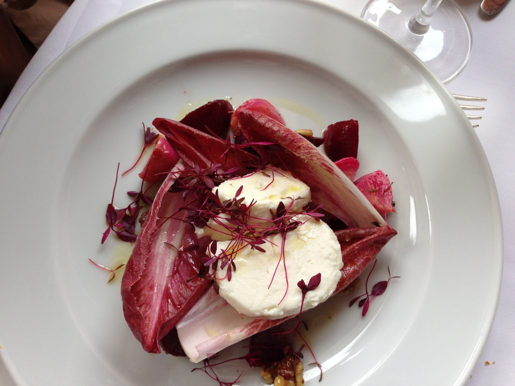 La Caprice, Beetroot and Goats Cheese Salad