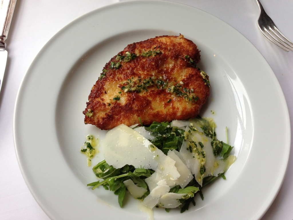 La Caprice, Chicken Milanese