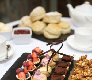 Fawsley Hall afternoon tea