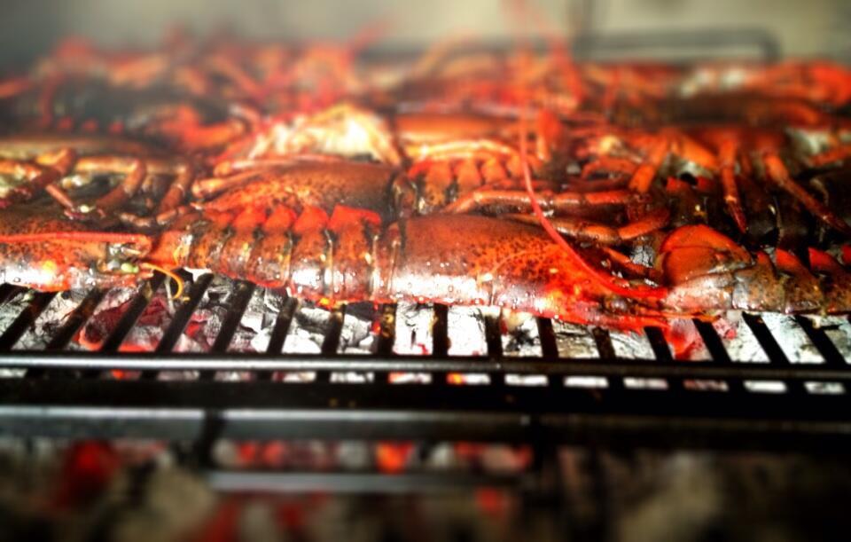 Great fosters lobster on the josper