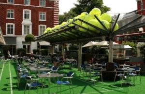 Bluebird London Wimbledon Courtyard