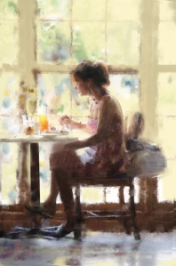 Dining Alone by Houck Portraits