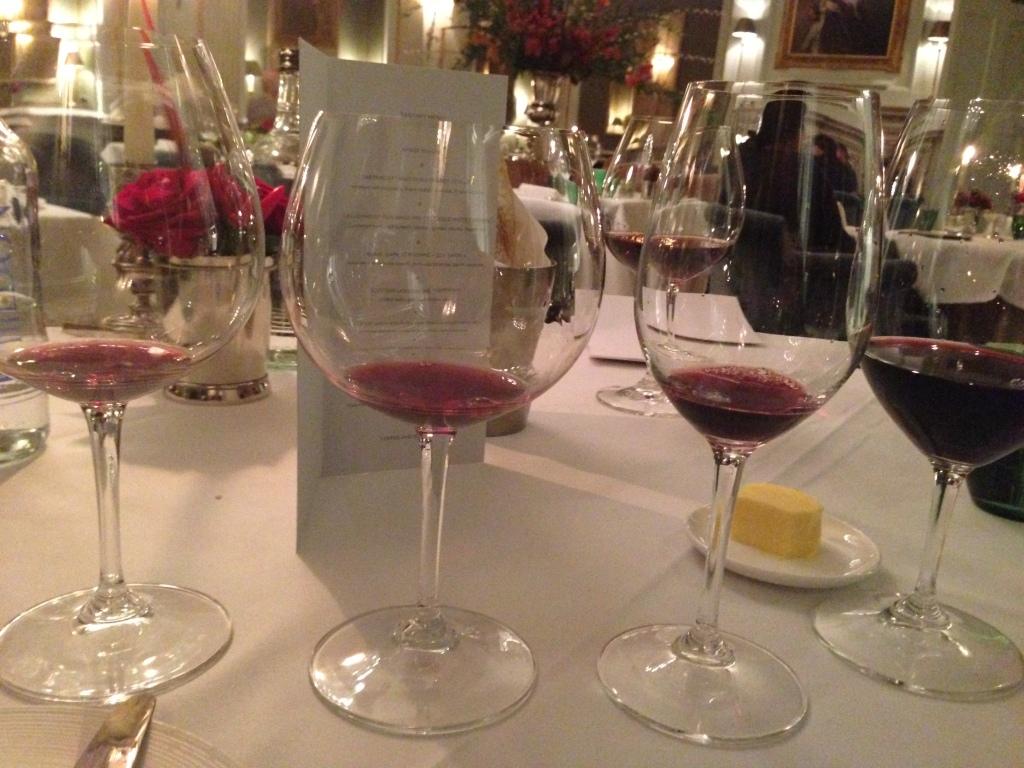 Cliveden wine tasting