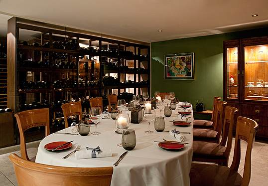 ten of the best sommelier's tables and cellar dining rooms in the