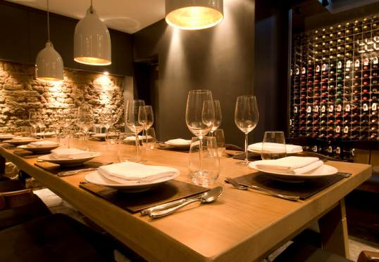 Cellar Private Dining Room Hedone Chiswick London