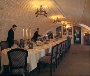 The Wine Cellars at The Stafford Hotel