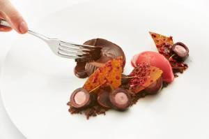 Chocolate and Cherries by MasterChef winner Steven Edwards