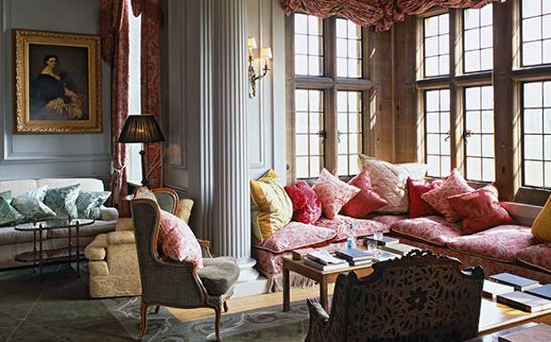 The Drawing Room at Stapleford Park