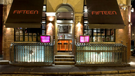 Fifteen shoreditch