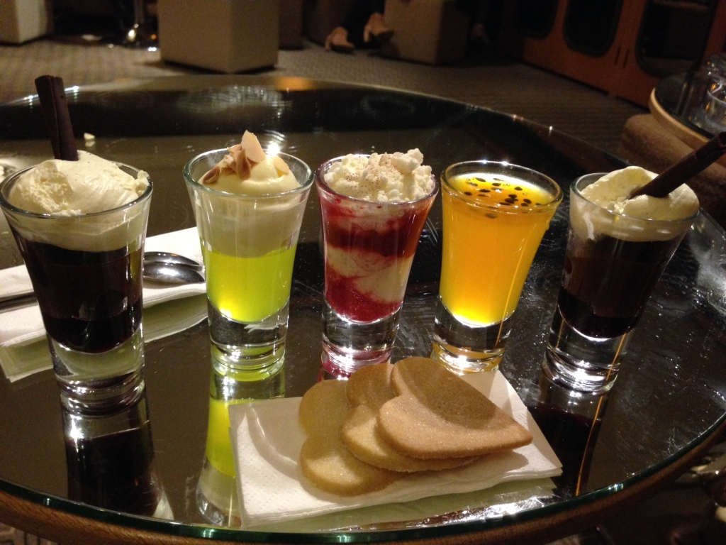 pudding selection
