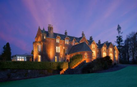 Cromlix House at Night