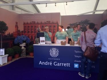 André Garrett at Taste of London