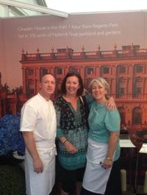André Garrett and Sue Williams, Cliveden House