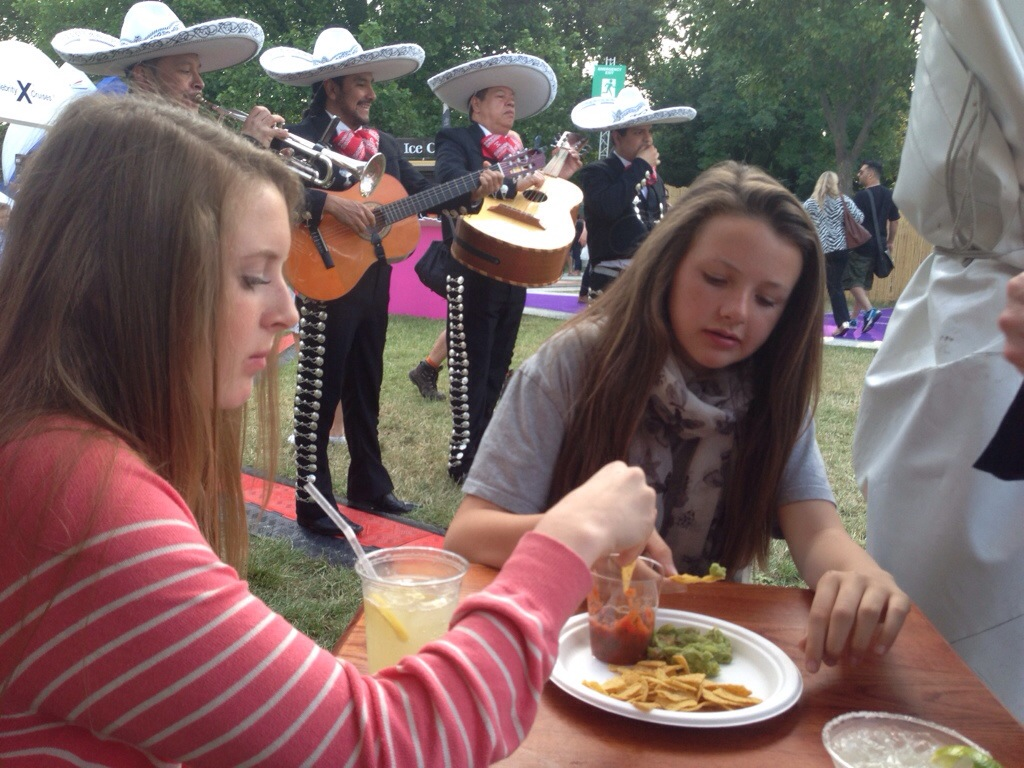 Cafe Pacifico Taste of London 2014