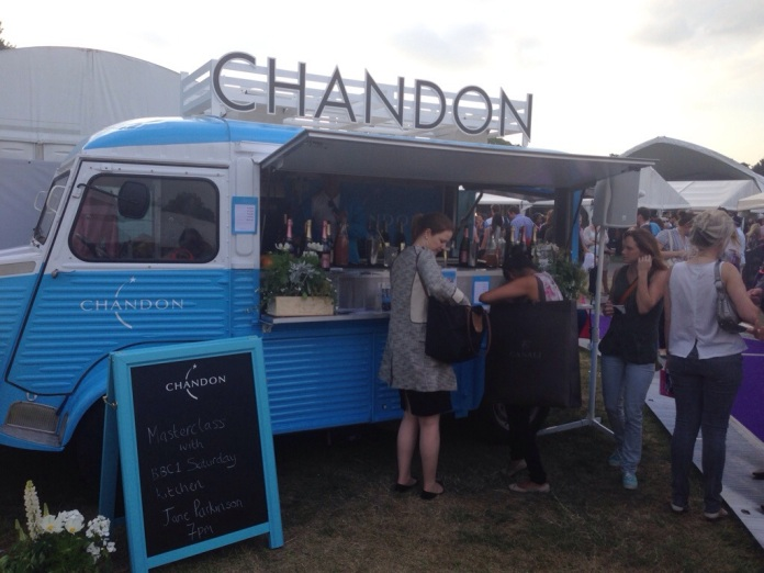 Chandon at Taste of London 2014