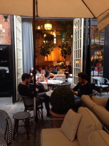 Chiltern Firehouse Terrace