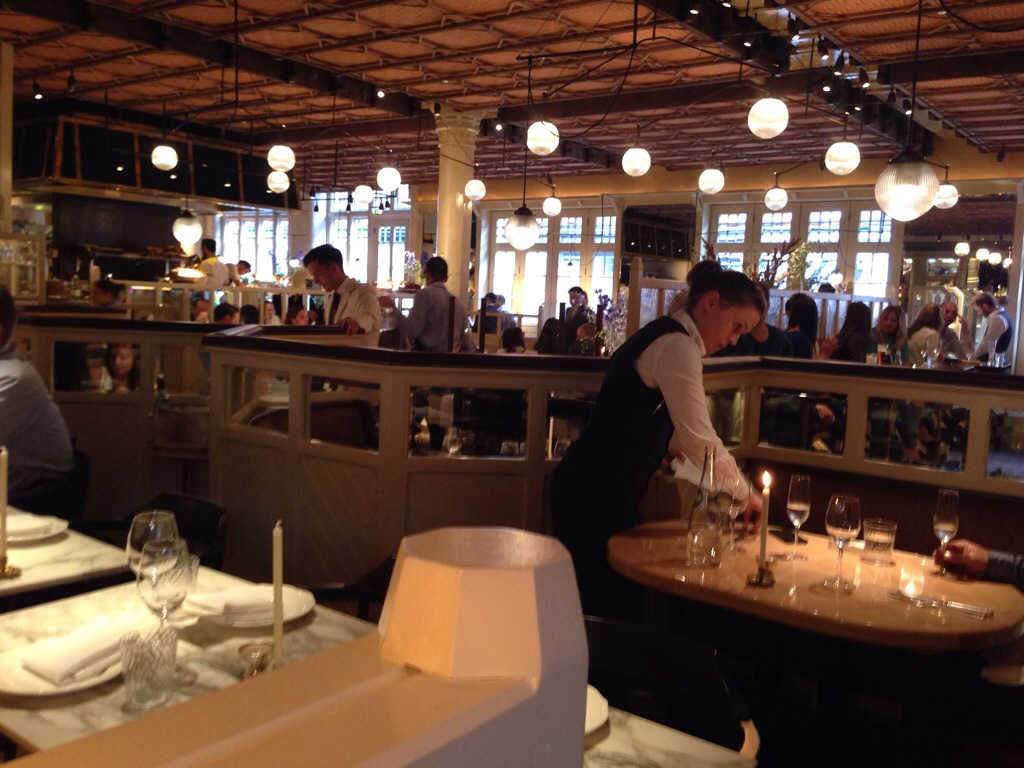 RESTAURANT REVIEW Chiltern Firehouse Marylebone THE