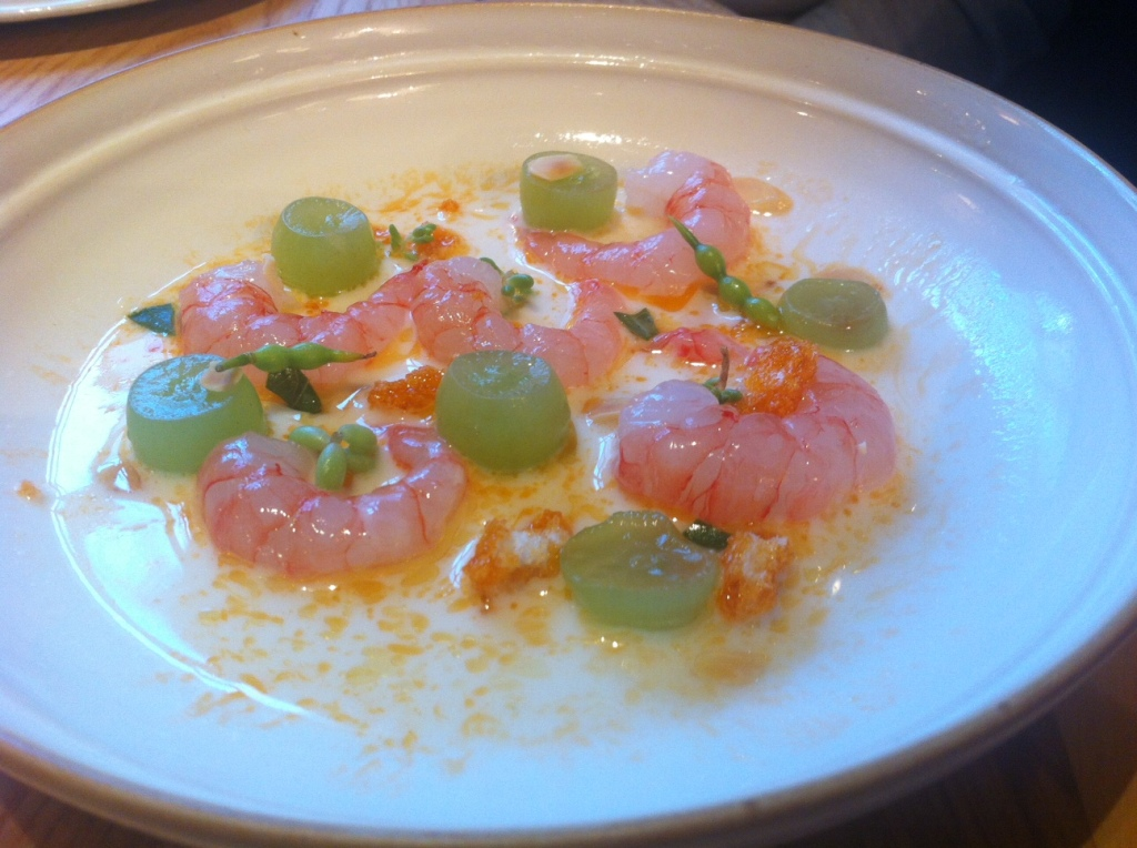 Red Prawns - Chiltern Firehouse