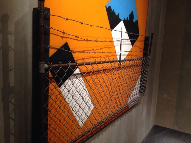 Allan D'Arcangelo Guard Rail Masterpiece 2014