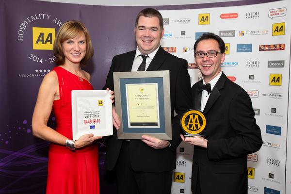 Nathan Outlaw - Chef's Chef AA Awards