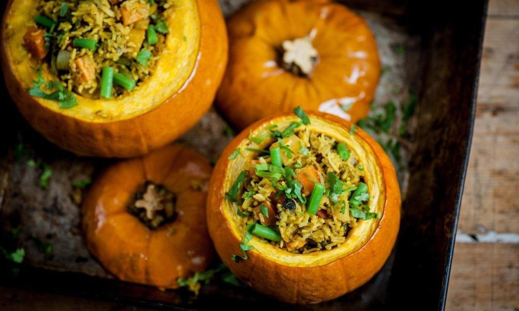 Pumpkin Biriyani recipe