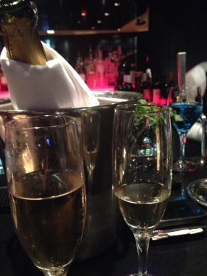 Champagne at park plaza