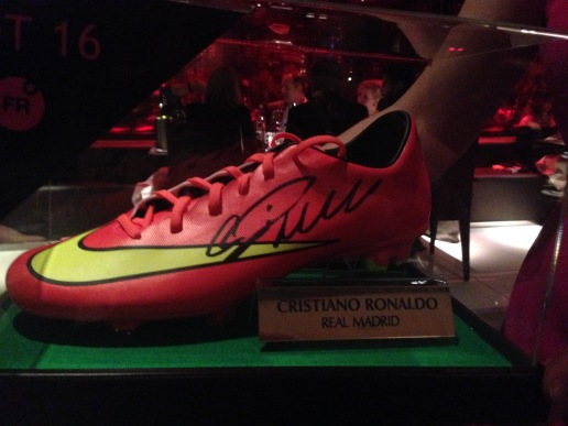 Cristiano Ronaldo Auction Item