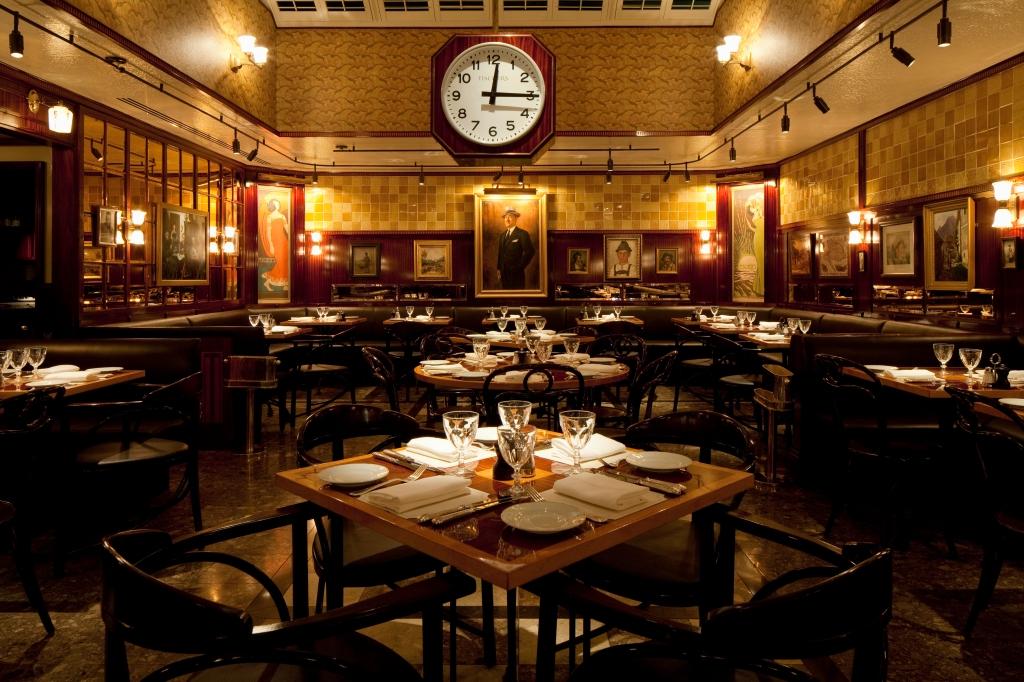 Fischer's Restaurant, Paul Nulty Lighting Design