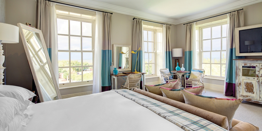 Seaham Hall , Junior Suite 5