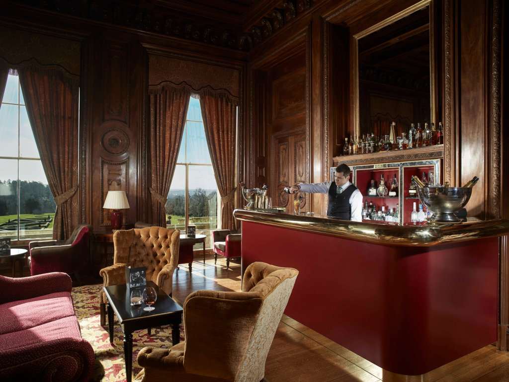 Library Bar at Cliveden House