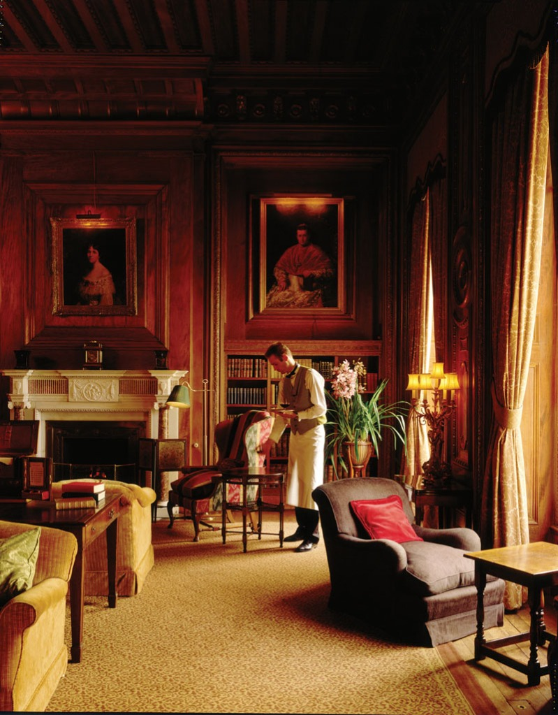The Library at Cliveden House