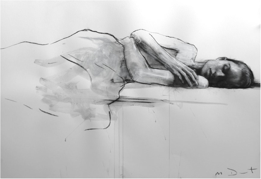 Mark Demsteader Amy Reclined