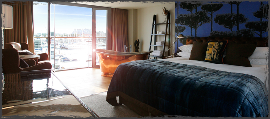 Sail Loft Room - The Salthouse Hotel Harbour Hotel