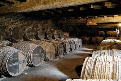 Cognac chai Pierre Frapin