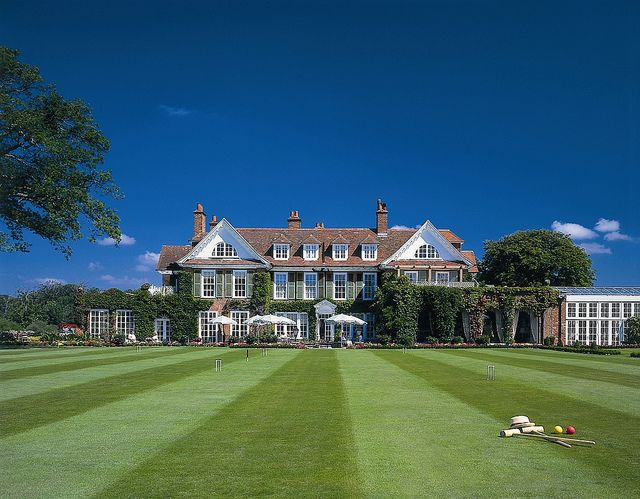 Croquet Lawn at Chewton Glen