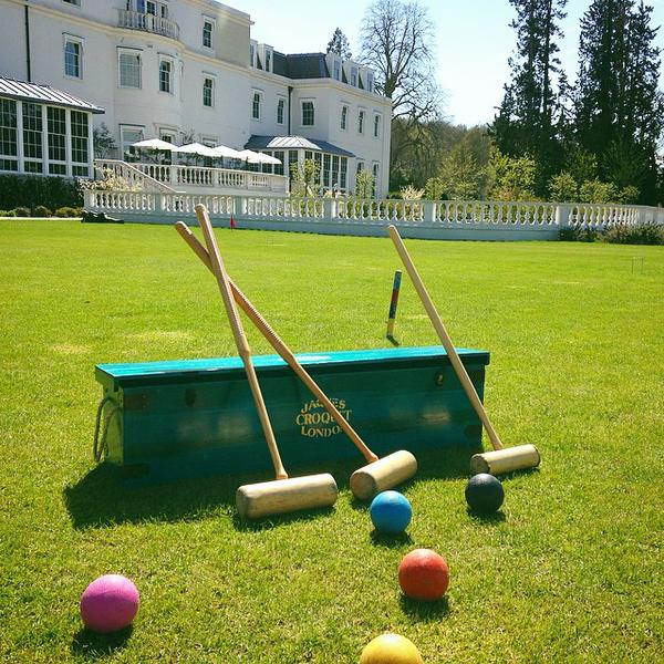 Croquet at Coworth Park