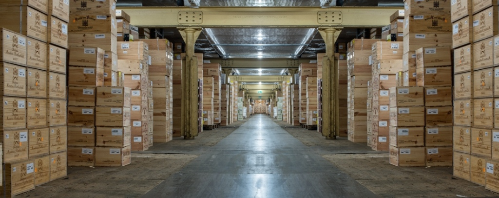 Wine Bourse large warehouse