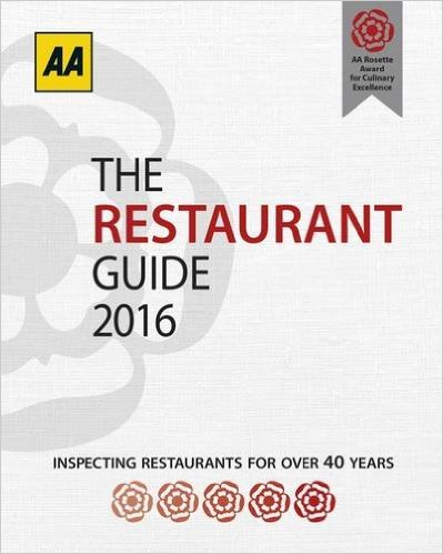 The full list of 2016 aa rosette awarded restaurants in for Restaurant guide