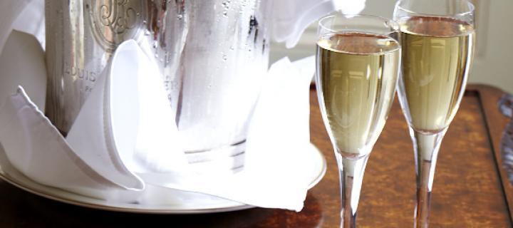 Champagne at Luton Hoo