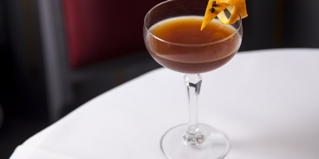 Mince pie Manhatten Marcus Wareing