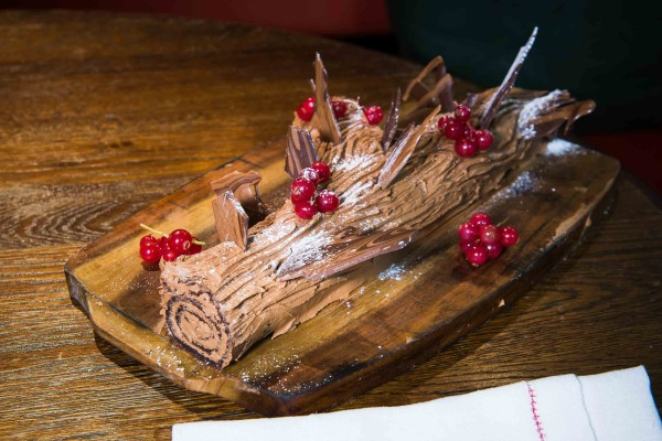 Riding House Cafe Yule Log