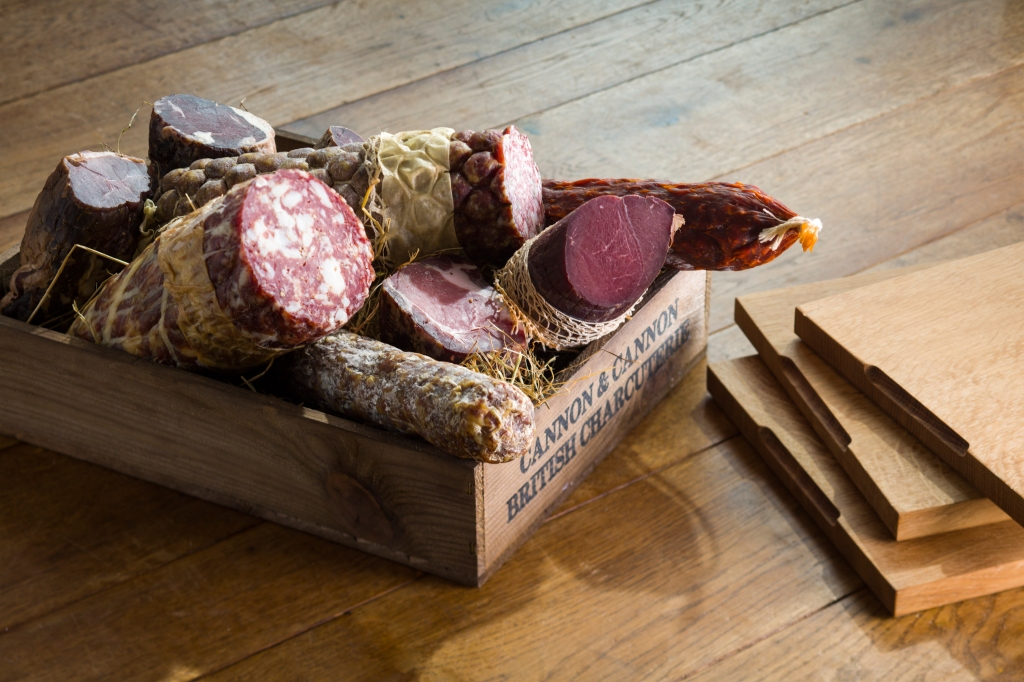 Charcuterie at Great Fosters