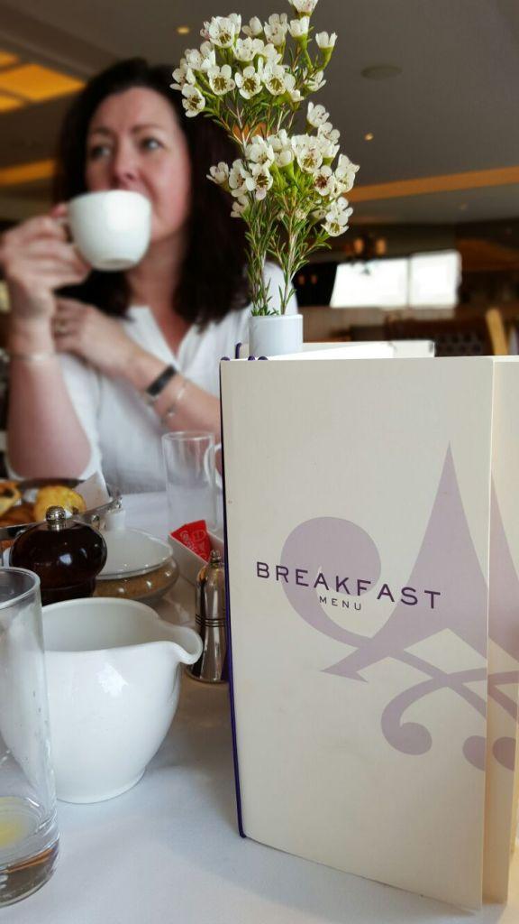 Breakfast at The Petersham Hotel