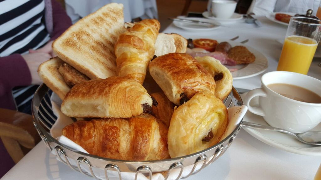 Continental Breakfast at The Petersham Hotel